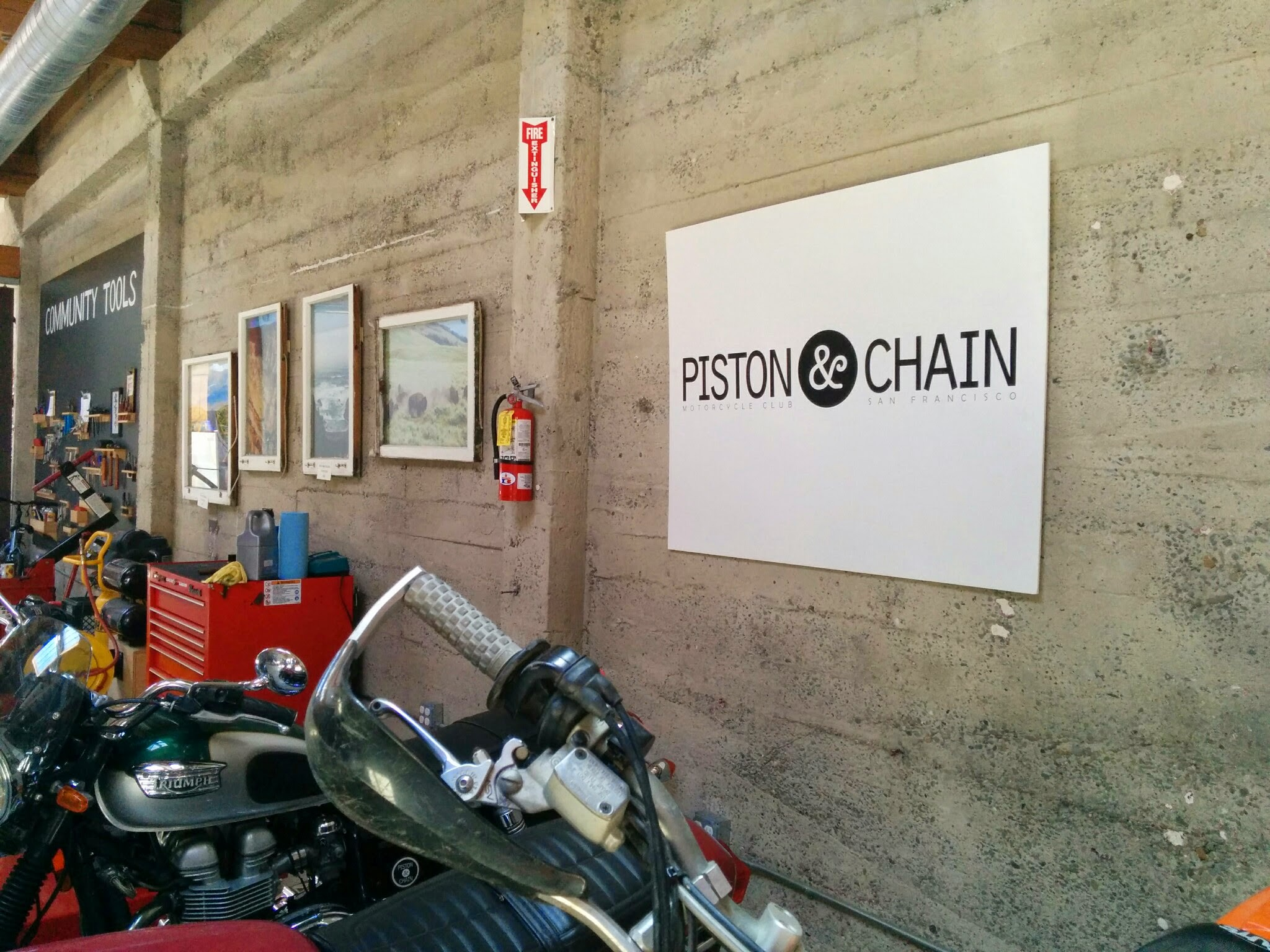 Piston and Chain Motorcycle Club