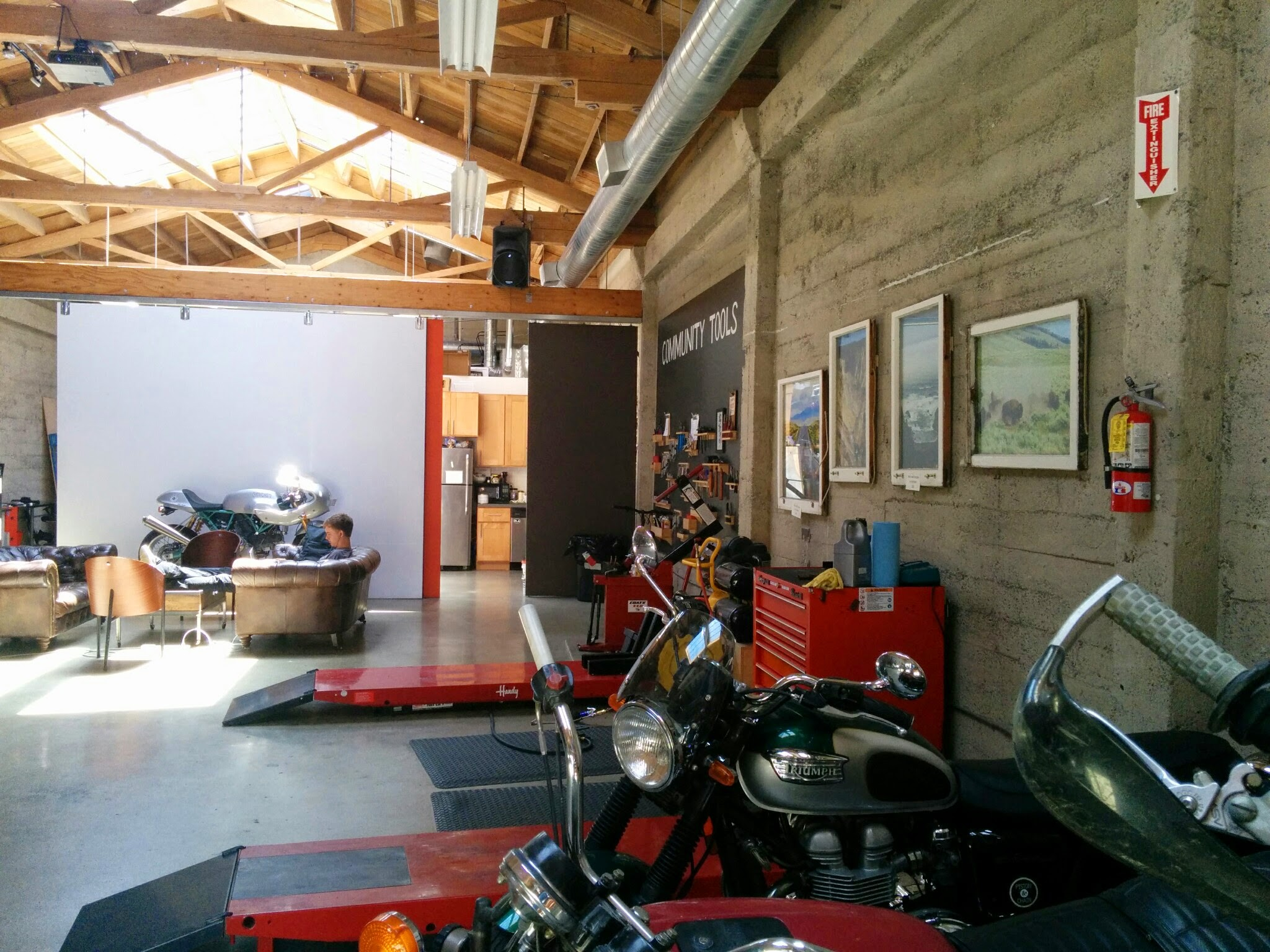 Inside the Piston & Chain Motorcycle Club