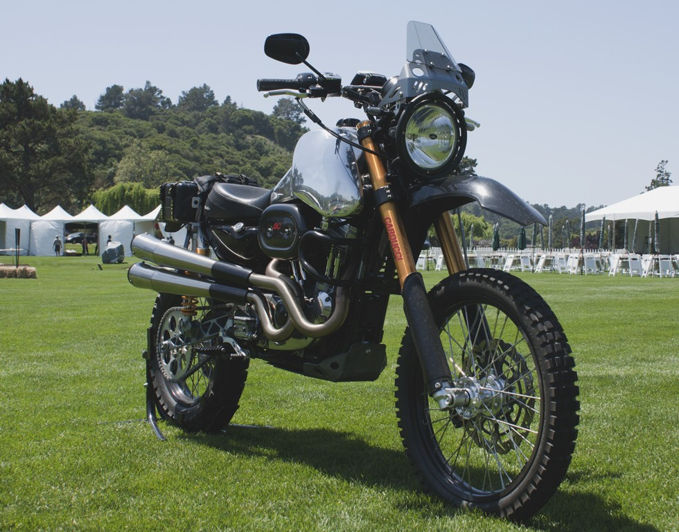 SC3 Adventure at Quail Motorcycle Event