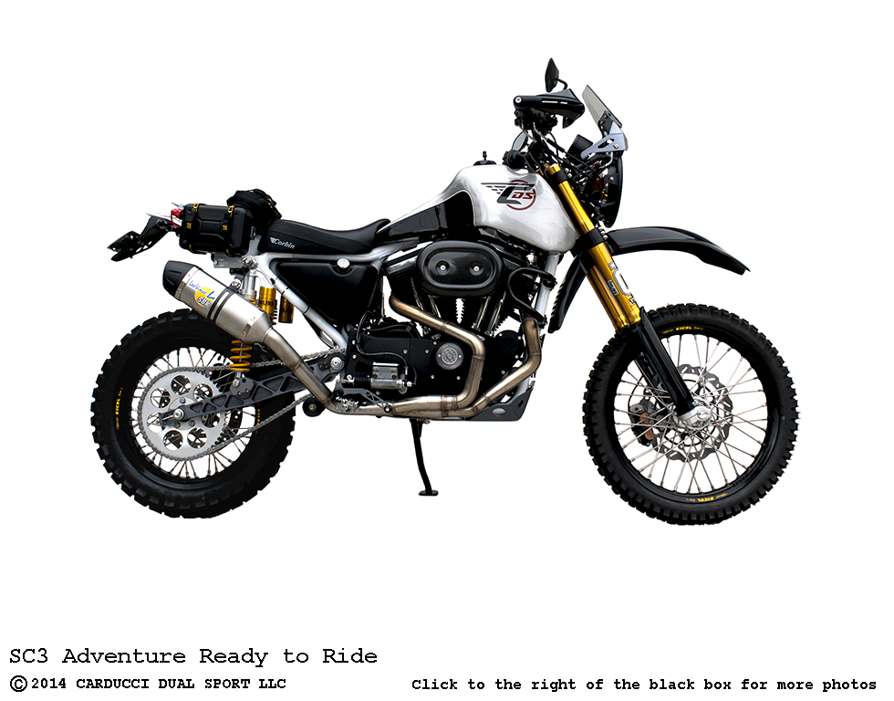 SC3 Adventure Ready to Ride