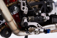 Foot Controls and Brake Fluid Reservoir